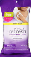 Ban® Total Refresh® Restore Cooling Body Cloths 2-10 ct Pack