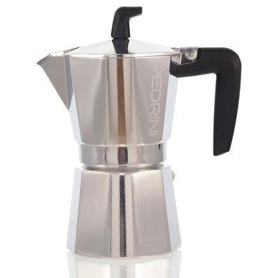 Grosche International Pedrini Stovetop Espresso Pot Sei Moka Size: 6 Cup