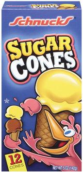Shnucks Sugar Cones 12 Ct