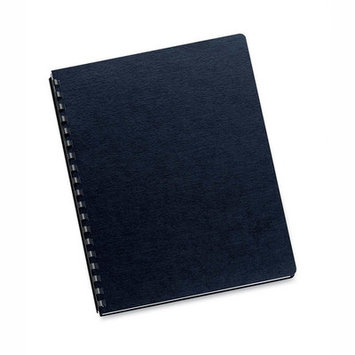 Fellowes Manufacturing Company Fellowes 5217001 Linen Classic Binding Cover 200pk Black