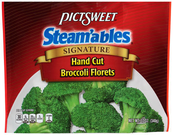 Pictsweet® Steam'ables® Signature Hand Cut Broccoli Florets 12 oz. Package