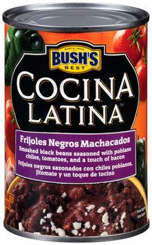 Bush's Best® Cocina Latina™ Frijoles Negros Machacados 16 oz. Can