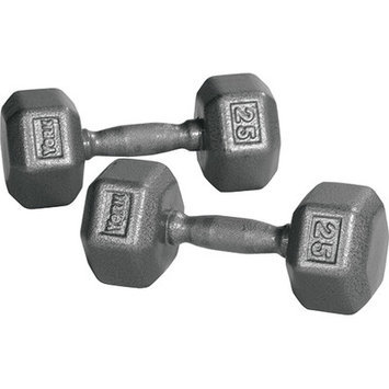 York Barbell Pro Hex Dumbbell Weight: 5 lbs