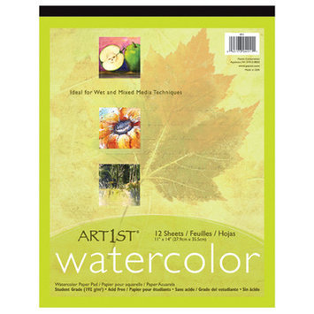Pacon Creative Products Art1st Watercolor Pad 11x14 12 Sht (Set of 2)