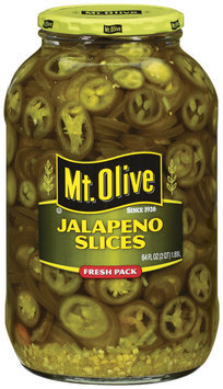 Mt. Olive Slices Jalapeno  64 Oz Jar