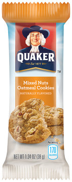 Quaker® Mixed Nuts Oatmeal Cookie
