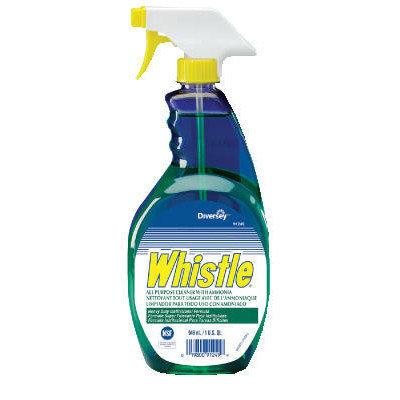 Whistle All-Purpose Cleaner Fresh Scent Liquid Trigger Spray Bottle, 32 oz (12 Bottles Per Case)