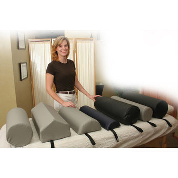 Core Products Dutchman Roll Bolster Size: Medium, Color: Gray
