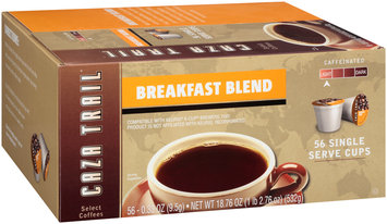Caza Trail® Breakfast Blend Light Coffee 56-0.33 oz. Cups