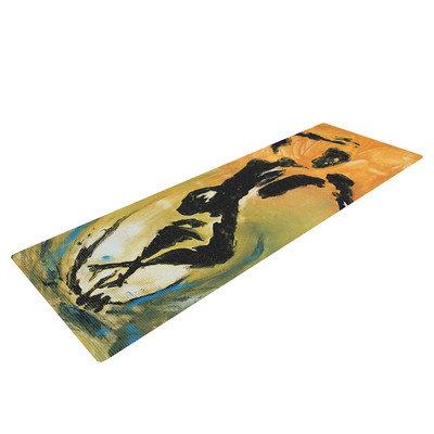 Kess Inhouse Hangin' 5 by Josh Serafin Yoga Mat