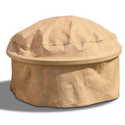 Budge Inds Llc Fire Pit Cover Tan