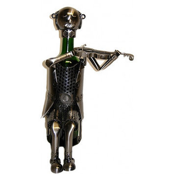 Three Star ZB520 Wine Bottle Holder - Violinist