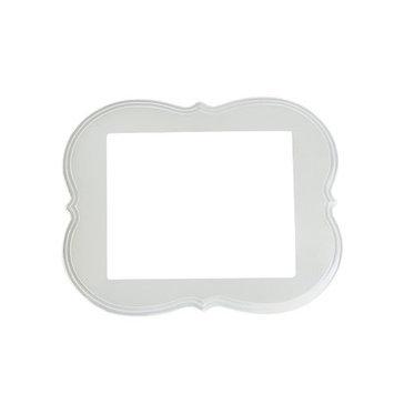 Secretly Designed Abby Frame Size: 8x10, Color: Cream