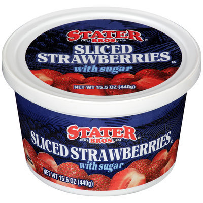 Stater Bros.® Sliced Strawberries with Sugar