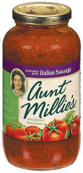 AUNT MILLIE'S W/Italian Sausage Pasta Sauce 26 OZ JAR