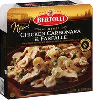 Bertolli® Al Dente Chicken Carbonara & Farfalle 10 oz. Box