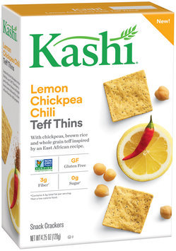 Kashi® Lemon Chickpea Chili Teff Thins Snack Crackers 4.25 oz. Box