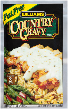 Williams Fat Free Country Gravy Mix 2.5 oz. Packet