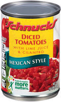 Schnucks® Mexican Style Diced Tomatoes 10 oz. Can