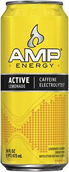 AMP® Energy Active Lemonade 16 fl. oz. Can
