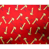Stwd Giraffes Pack N Play Fitted Sheet Color: Red
