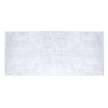 Terry Town Beach Towel Color: White