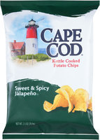 Cape Cod® Sweet & Spicy Jalapeno Kettle Cooked Potato Chips 2.05 oz. Bag