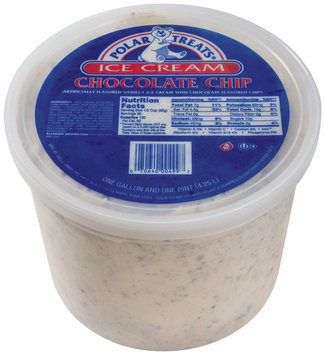 Polar Treats Chocolate Chip Ice Cream 4.5 Qt Pail