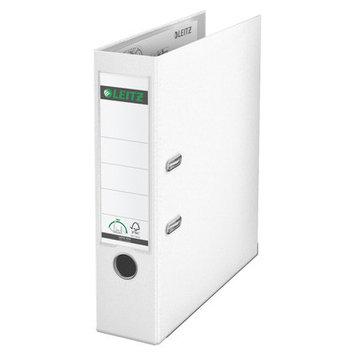 Leitz 180° 10151001 DIN A4 Plastic Lever Arch Folder 80mm Width, White