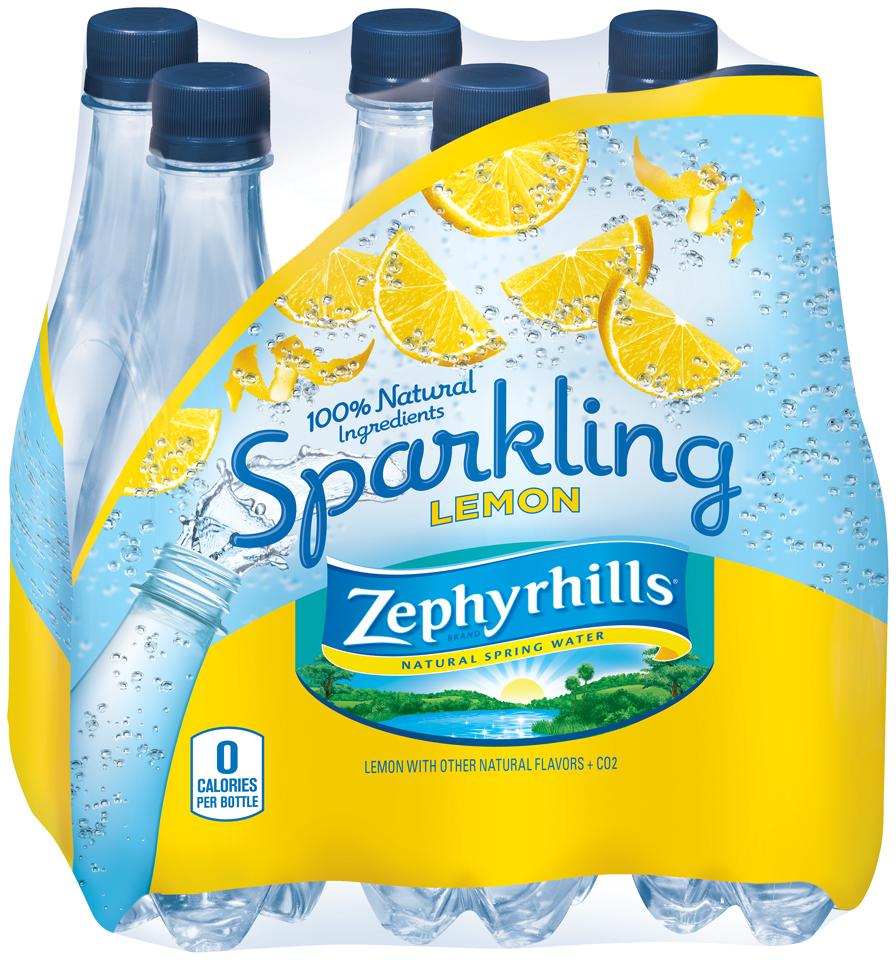 Zephyrhills® Sparkling Lemon Natural Spring Water