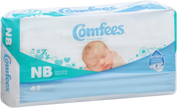 CMF-N Comfees® Baby Diapers Newborn, 42 count