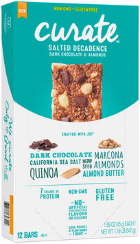 Curate™ Salted Decadence Snack Bars 12-1.59 oz. Packs