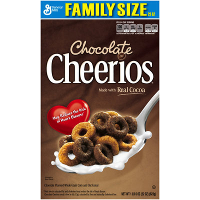 Chocolate Cheerios Cereal