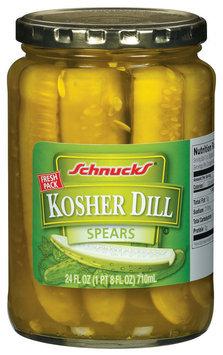 Schnucks Kosher Dill Spears Pickles 24 Fl Oz Jar