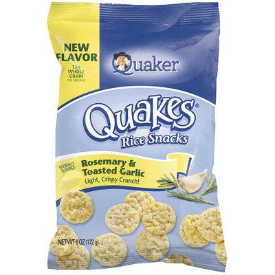 Quaker® Rosemary & Toasted Garlic Rice Snacks