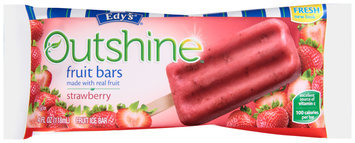 Edy's® Outshine™ Strawberry Fruit Bar 4 fl. oz. Wrapper