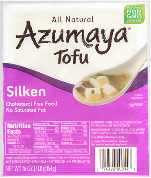 Azumaya® Silken Tofu 16 oz. Tray