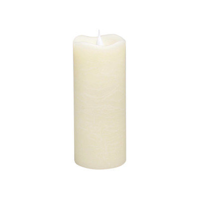 Simplux Candles Classic 3D Flameless Candle Color: Ivory, Size: 7.75