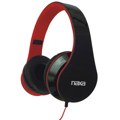 Naxa NE-931 Over-Ear 3.5mm Stereo Plug Pro Headphone