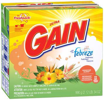 Gain® Ultra Febreze Hawaiian Aloha with FreshLock Powder Laundry Detergent