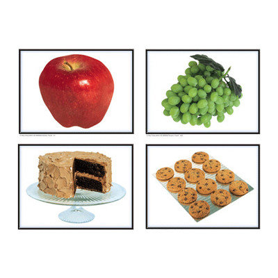 Carson-dellosa Publishing CARSON DELLOSA KE-845004 PHOTOGRAPHIC LEARNING CARDS NOUNS:-FOOD