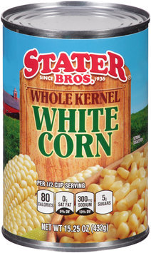 Stater Bros.® Whole Kernel White Corn 15.25 oz. Can