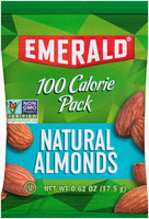 Emerald® 100 Calorie Pack Natural Almonds 0.62 oz. Pack