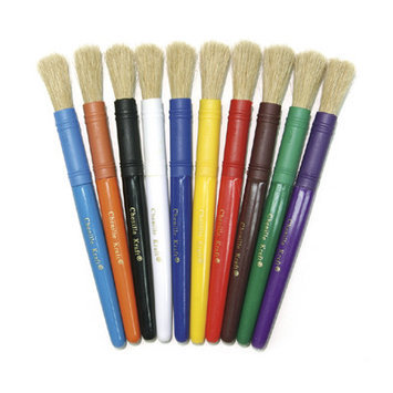 Chenille Kraft Company CK-5901 Colossal Brushes Set Of 5 Assorted Colors