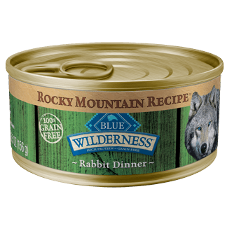 THE BLUE BUFFALO CO. BLUE™ Wilderness® Rocky Mountain Recipe™ Rabbit Recipe For Adult Dogs