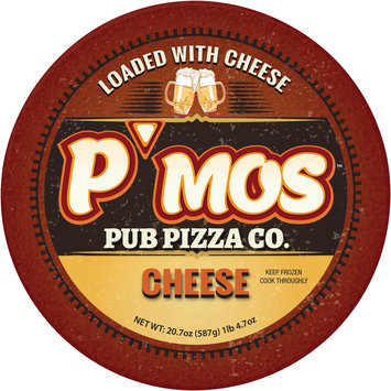 P'mos™ Pub Pizza Co. Cheese Pizza 20.7 oz.