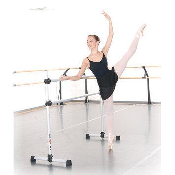 Vitavibe Professional Series Modern Aluminum Double Bar Ballet Barre-n-Bag Kit Size: 5 ft.