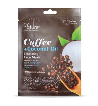 by nature™ Coffee + Coconut Oil Sheet Face Mask