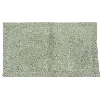 Textile Decor Castle 2 Piece 100% Cotton Bella Napoli Reversible Bath Rug Set, 24 H X 17 W and 30 H X 20 W
