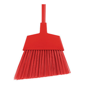 O-cedar Commercial All Red Unflagged Large Angle Broom - 6 EA
